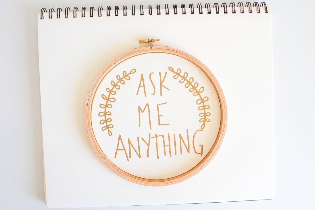 Chiedimi qualsiasi cosa + Commenti e critiche al negozio!