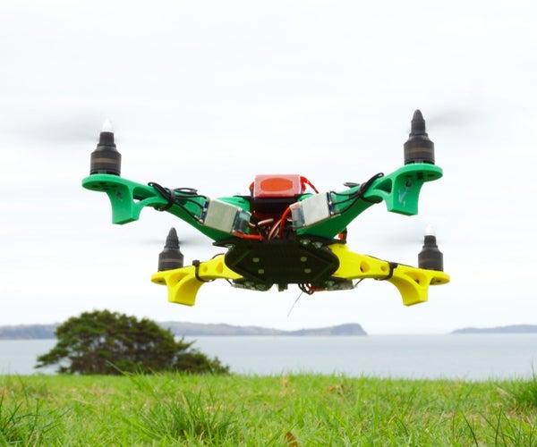 Super Simple 3D Printed Drone Build
