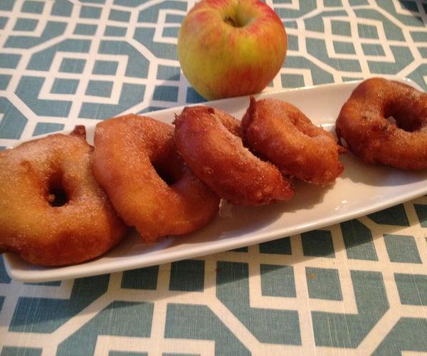 Cinnamon Apple Ring Doughnuts