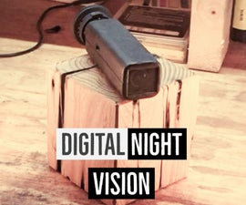 3D Printed Night Vision Scope