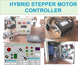 Arduino Clone Board for High Power Hybrid Stepper Motor