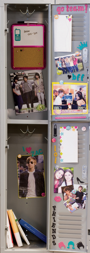 How to Personalize Your Locker
