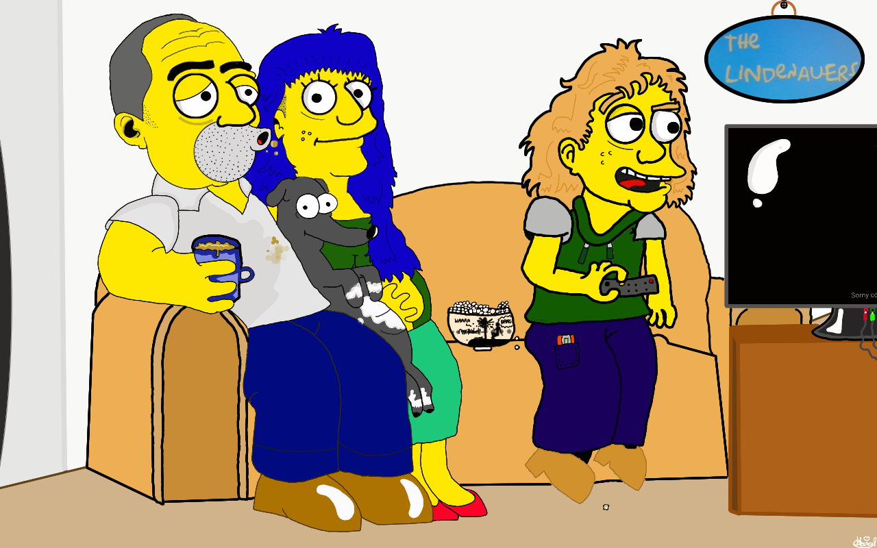 How To Draw Yourself Or Other People As Simpson Charakter