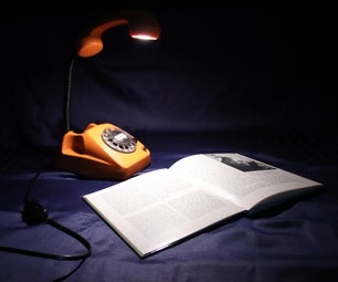 以前RetroPhone灯