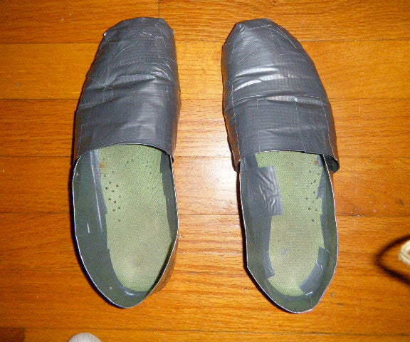 Duct-tape Shoes