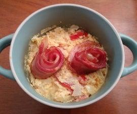 One Bowl Egg Omelette