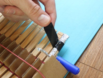 Mount the Foil Fingertips