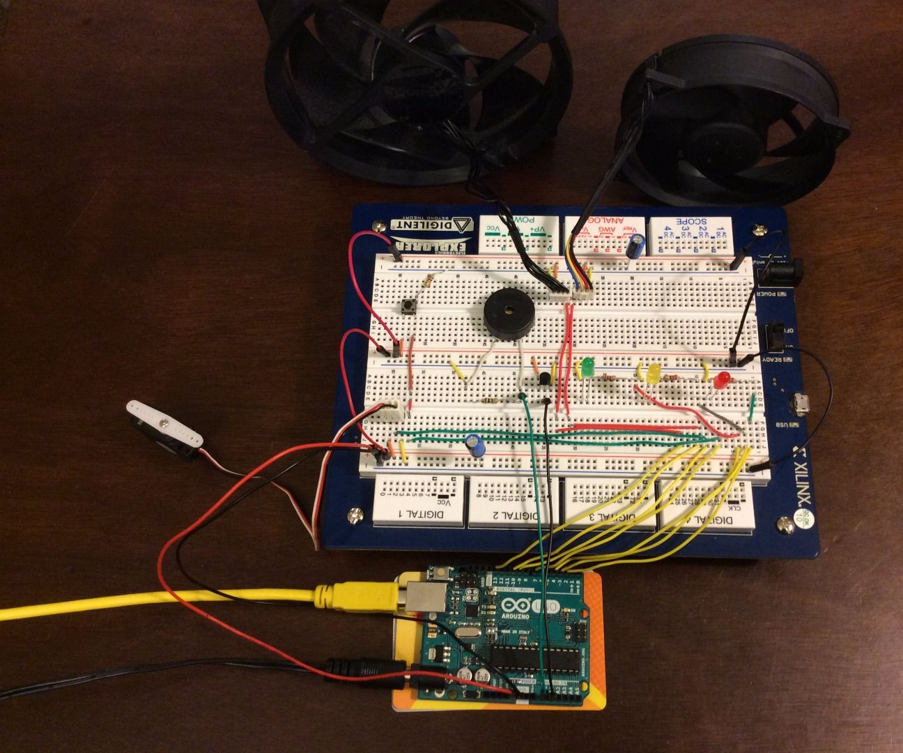 Arduino Uno fan control
