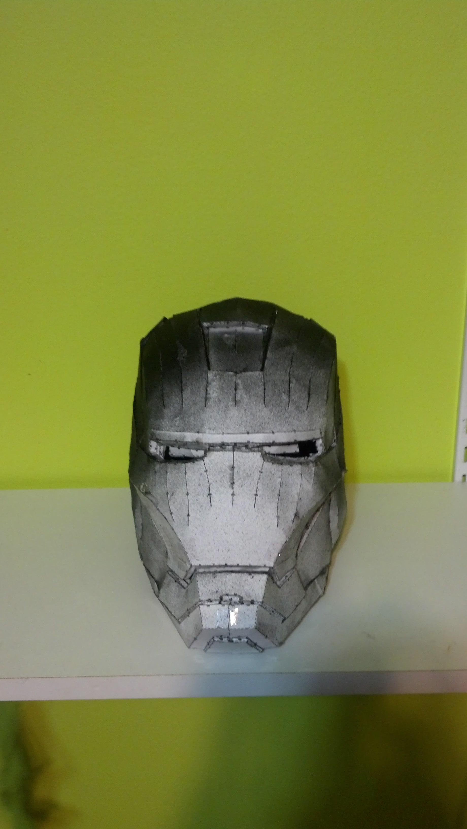 Easy Iron Man helmet