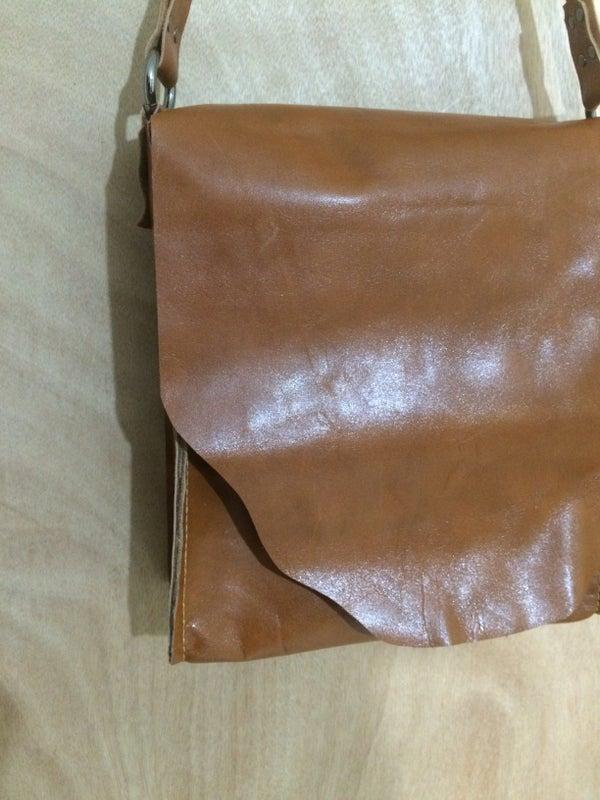 Rustic Multi Pocket Leather Tote