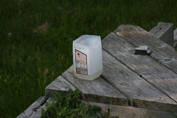 How to Make a Wasp Trap From an Old Plastic Jug.