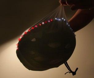 LED Stretchy Helmet Cap
