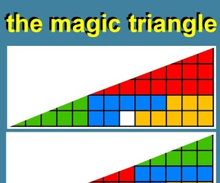The Magic Triangle - How to Fool Your Teacher