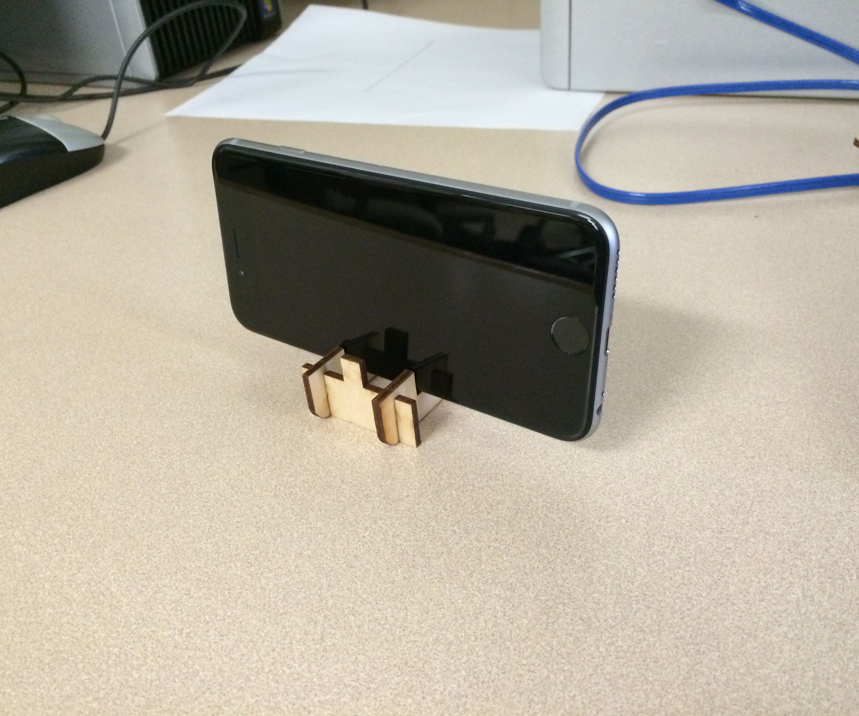 Magnetic Card Phone Stand