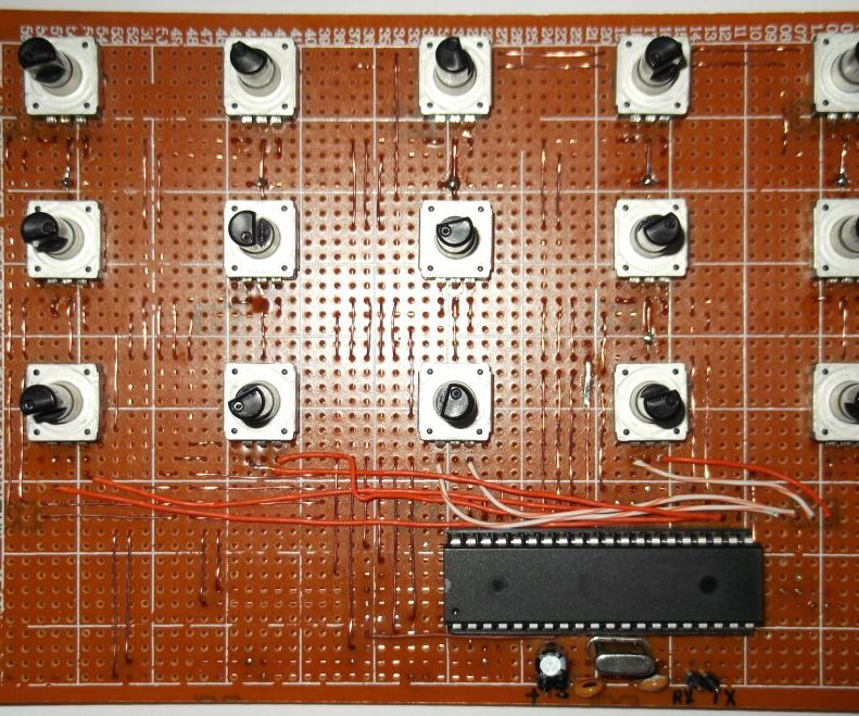Reading 15 Rotary Encoders with Arduino and ATmega1284