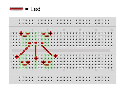 Place the Components on the Breadboard