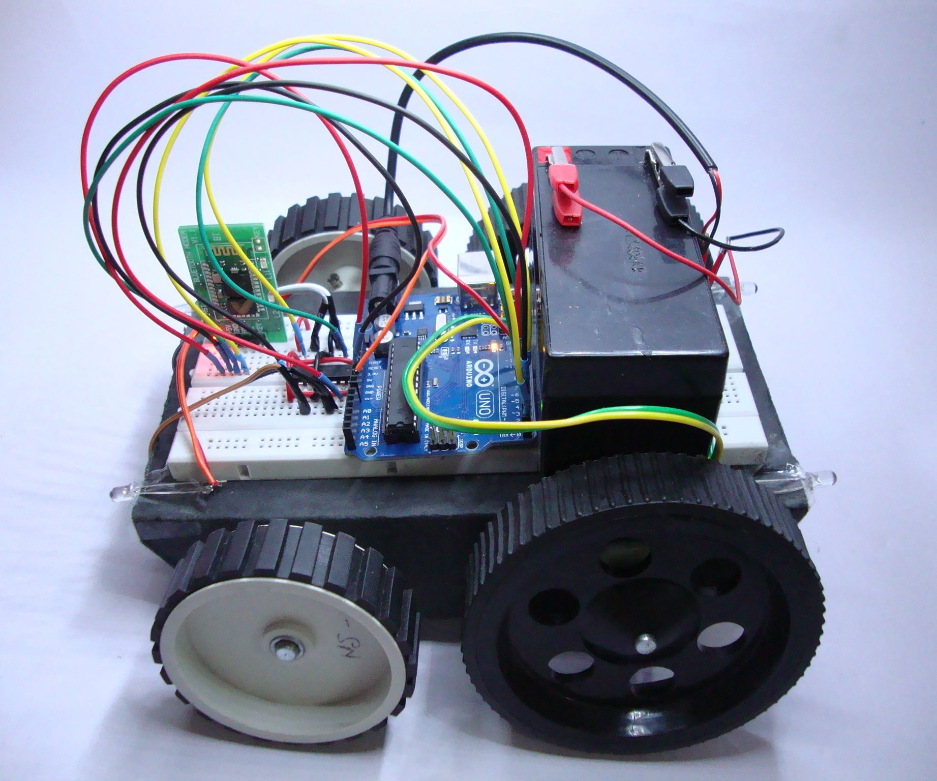 DIY Laptop Controlled Robot v1.0