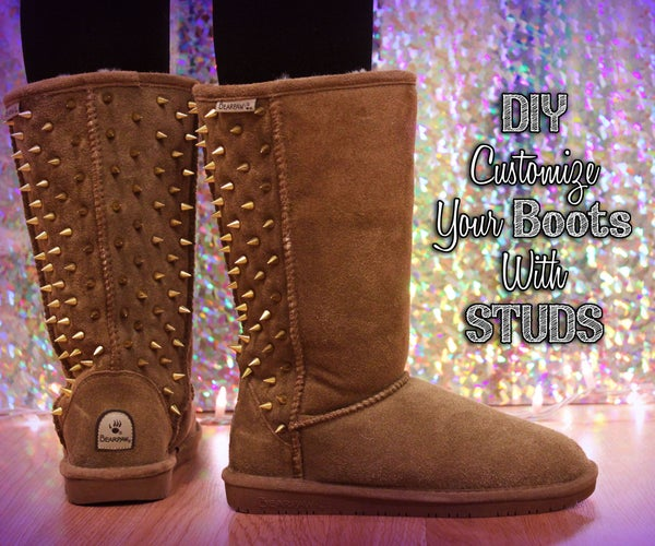 Customize Your Boots With Studs!