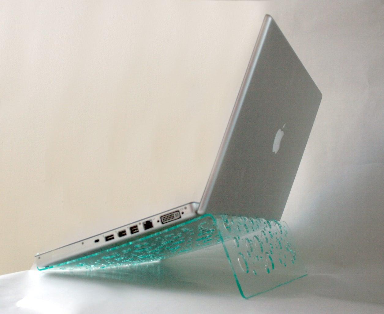 Laptop Bubble Stand