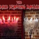Eerie Flaming Basket
