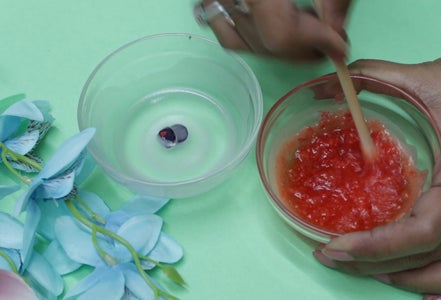 Prepare Garnish Stuffs (Candle # 1)