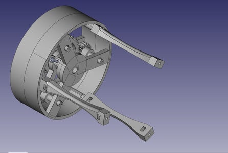 Add the (3) Spindle Arms