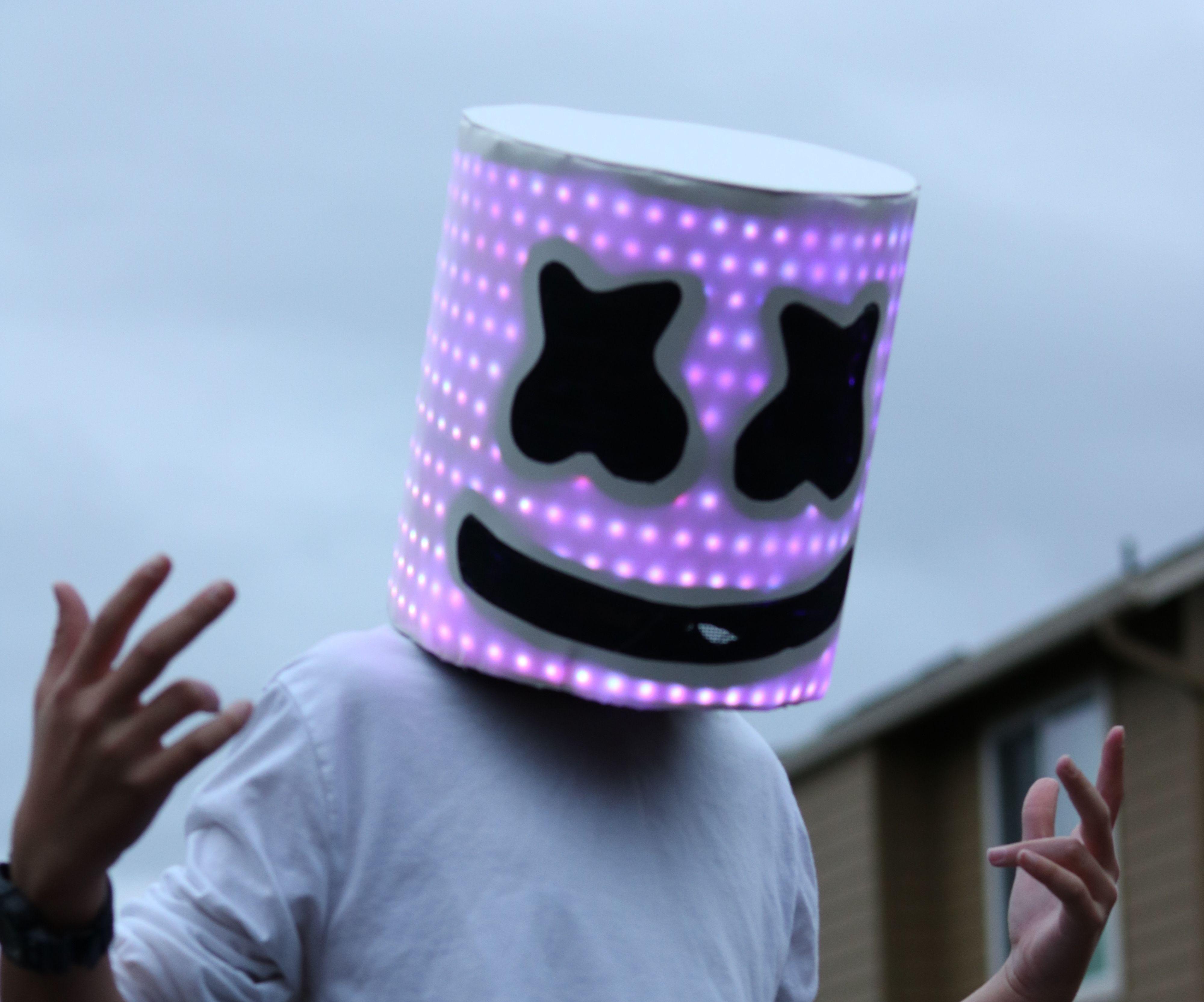 LED Marshmello Helmet for Under $50
