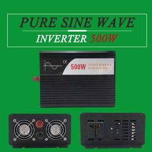 Buy a 24 Volt 500 Watt Pure Sine Wave Inverter