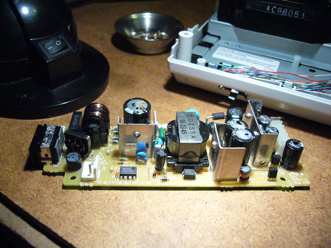 Remove the Power Supply.