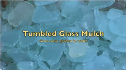 MAKE YOUR OWN SEA-GLASS MULCH!