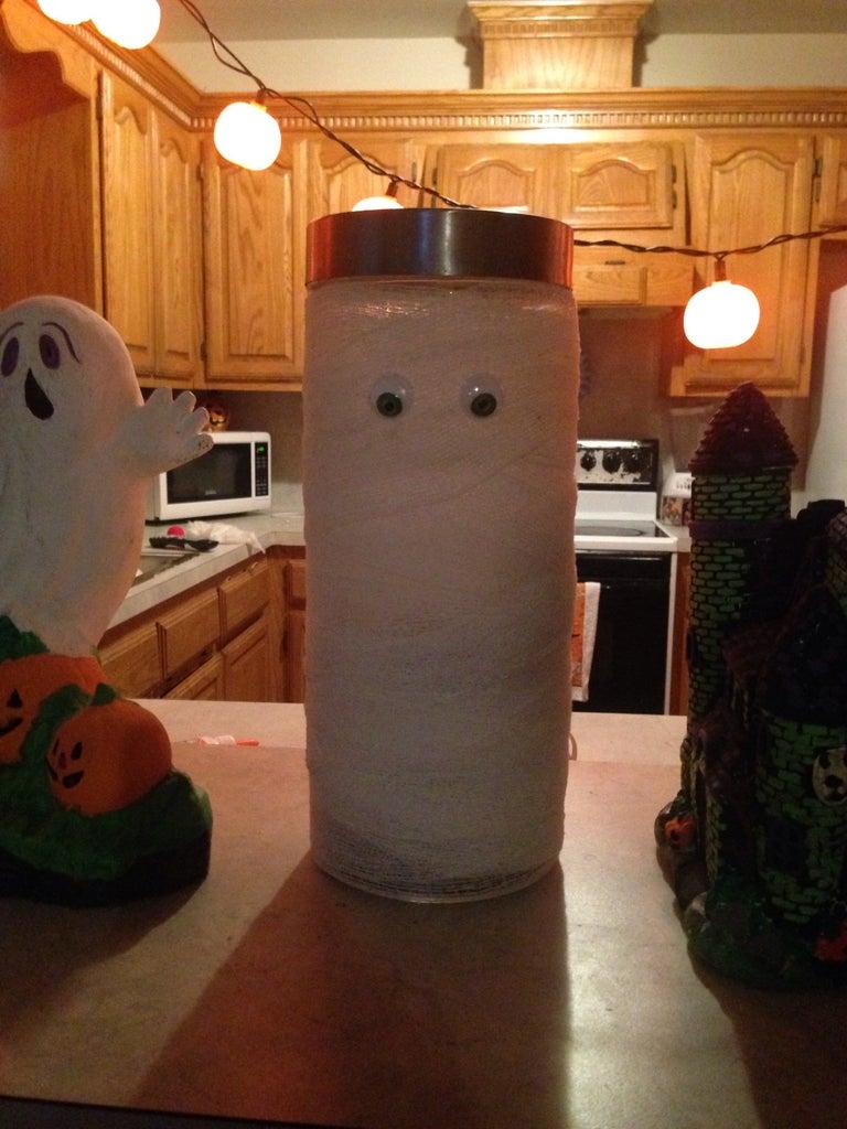 Cute Mummy Candy Jar