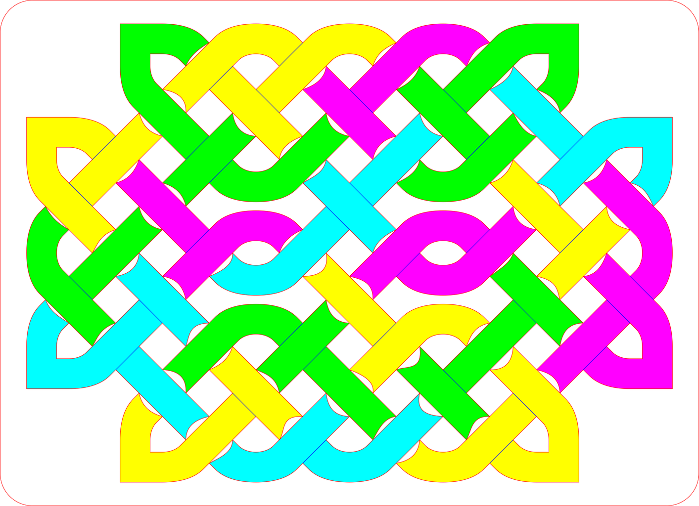 Celtic Knot Tray Puzzle