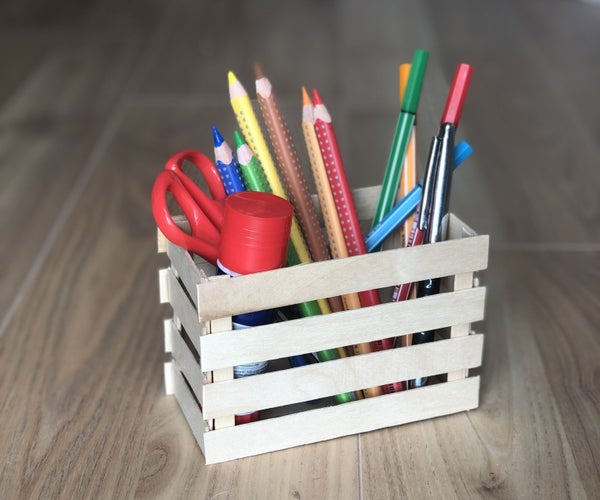 Create Your Own Pencil Holder