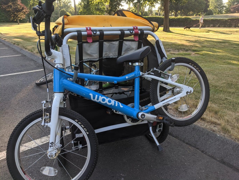 Kids Bike Trailer Bike Rack
