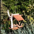 Reclaimed Cedar Shingle Bird Feeder
