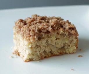 苹果酥咖啡蛋糕