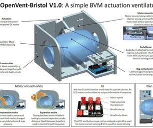 COVID-19 Rapid Manufacture Ventilator BVM Ambubag for £80 OpenVent-Bristol