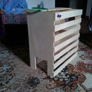 Ply wood cat house