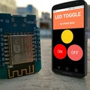Control Led Via Browser || Nodemcu Mini D1 R1 || HTML || CSS || Wemos D1 R1