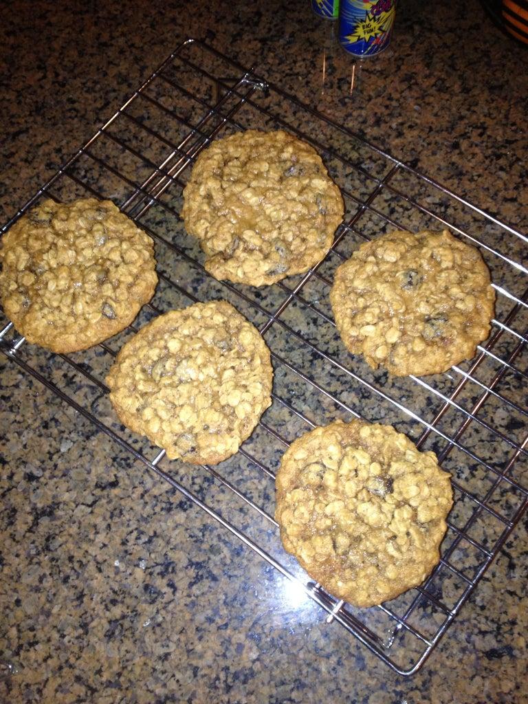 Awesome Oatmeal Raisin Cookies
