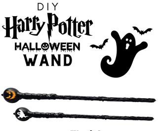 DIY Harry Potter Wand  - 万圣节版