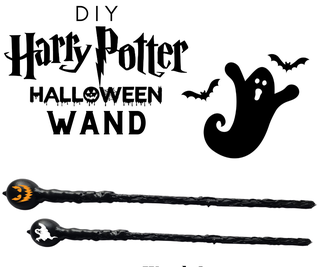 DIY Harry Potter Wand - Halloween Edition