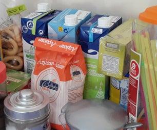 Secret Compartments Between Your Food