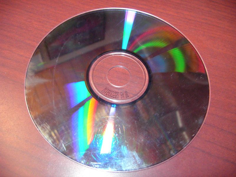 Re-surfacing CDs so they work again.