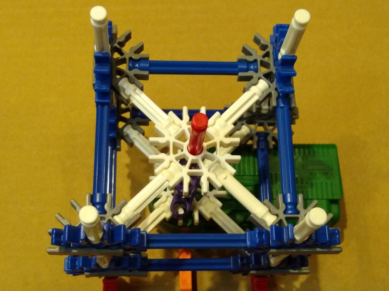 Build and Install the Shaft Support