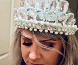 冰冻的女王皇冠