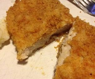 Golden Baked Pork Chops