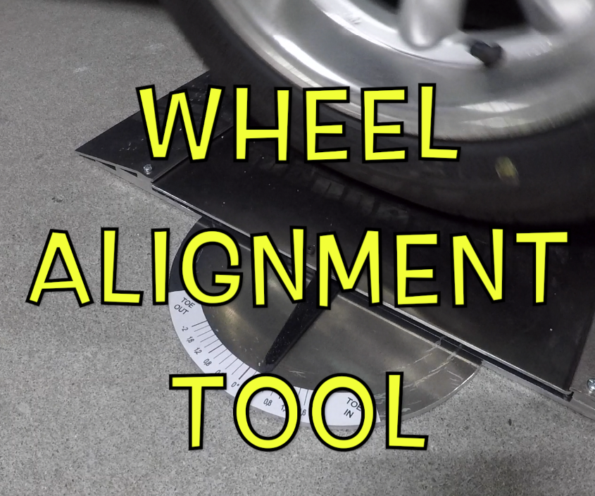 "Wheel Alignment Tool - ""BUILD a TOOL"" Contest"