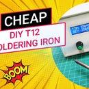 Adjustable Temp. Control Cheap T12 Soldering Iron