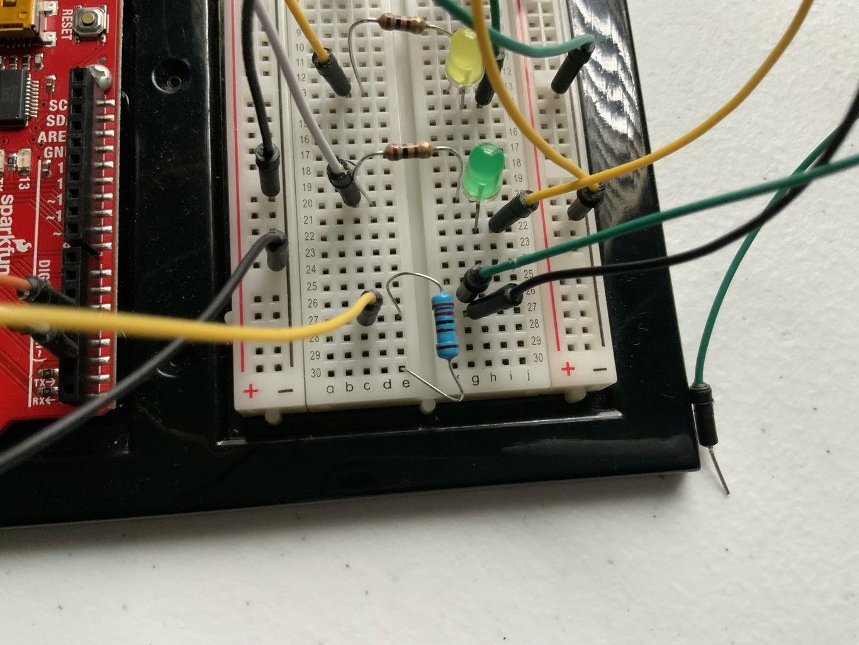 Add One 2.2k Ohm Resistor